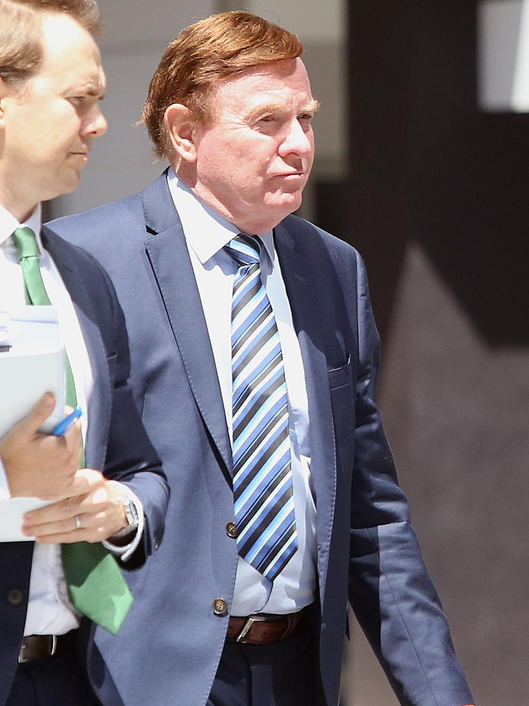 Carl Wulff at the Supreme Court in Brisbane. (AAP Image/Jono Searle)