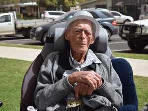 Light horseman celebrates turning 104