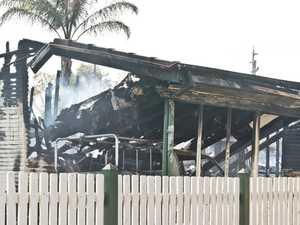 Oakey house fire