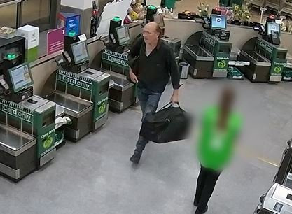 Queensland Police Service have released CCTV footage of murder victim David Collin the night before he was killed.