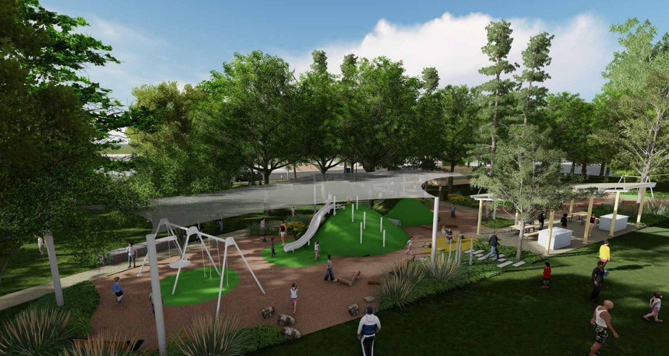 MAKE-OVER: The Toowoomba Regional Council has endorsed a master plan to revitalise Coronation Park in Harristown.