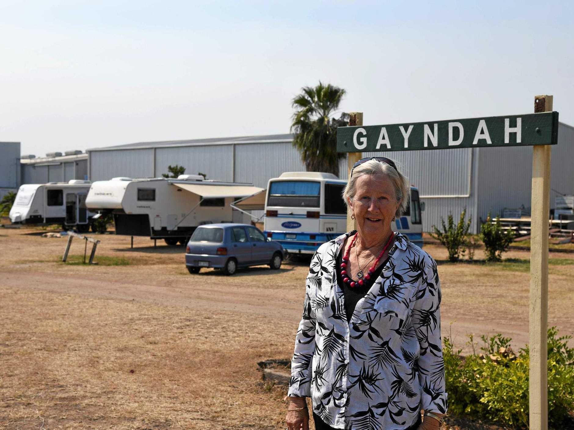 ADVOCATE: Gayndah Heritage Railway's Veronica Andrews.