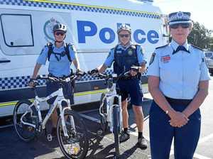 Bike police chase down fugitive on the run