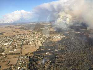 Town's scarce water supply threatened by fast moving fire