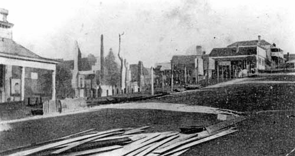 1881 fire in Upper Mary Street