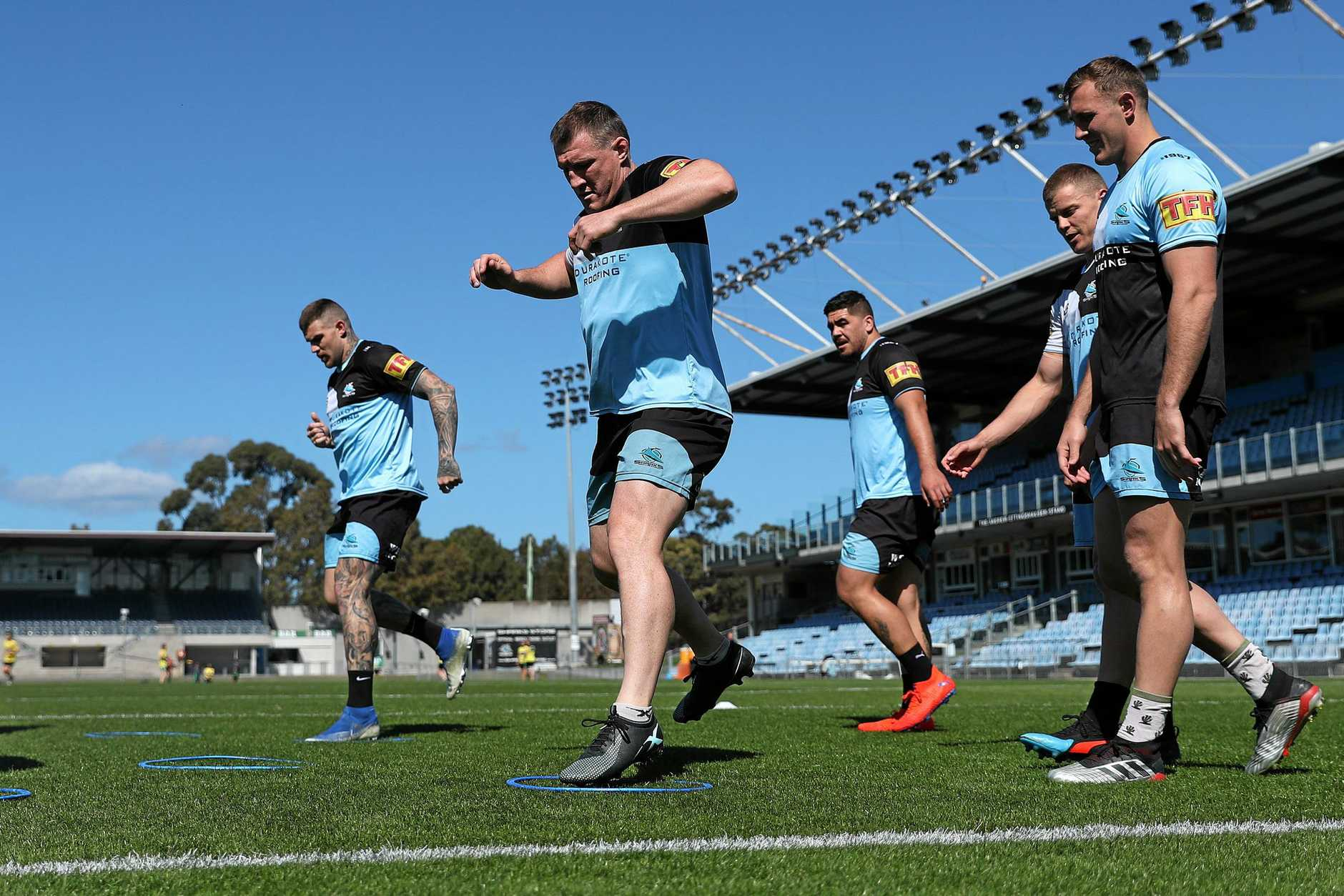 Paul Gallen will be looking to extend his playing career.