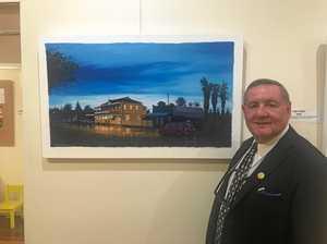 Burnett exhibition a doorway into artist's mind