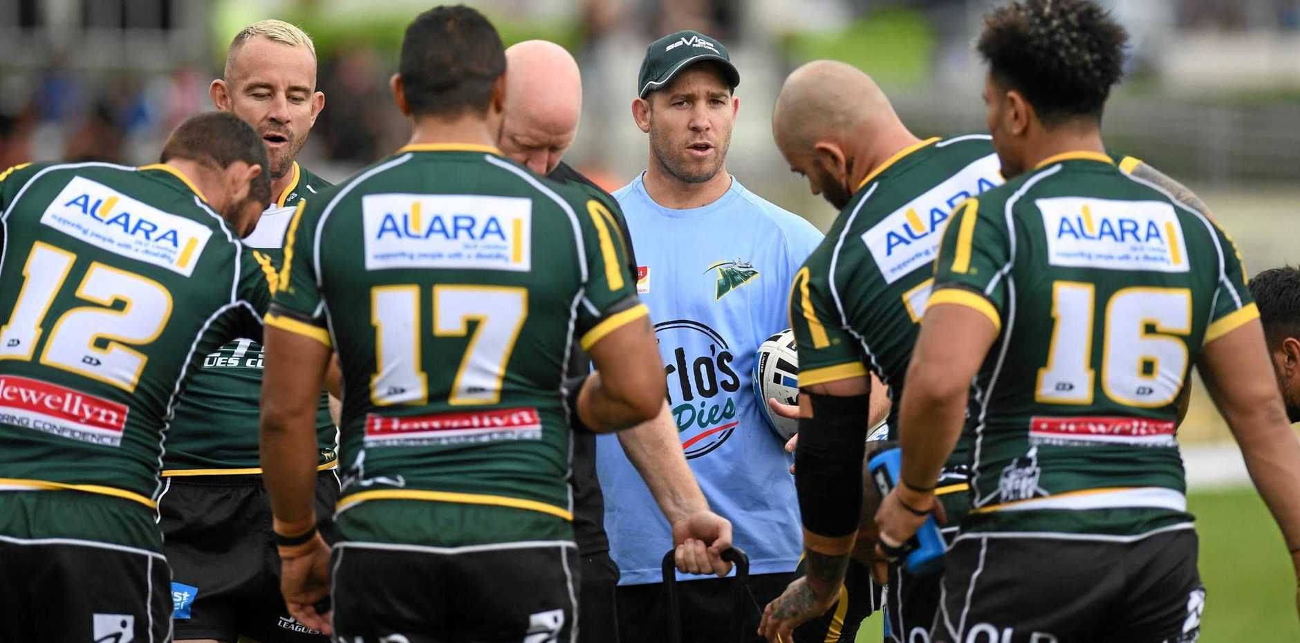 NATURAL LEADER: Inspirational former captain Keiron Lander is new head coach of the Ipswich Jets.