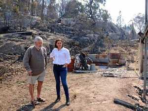 'Devastating': Frecklington visits disaster zone