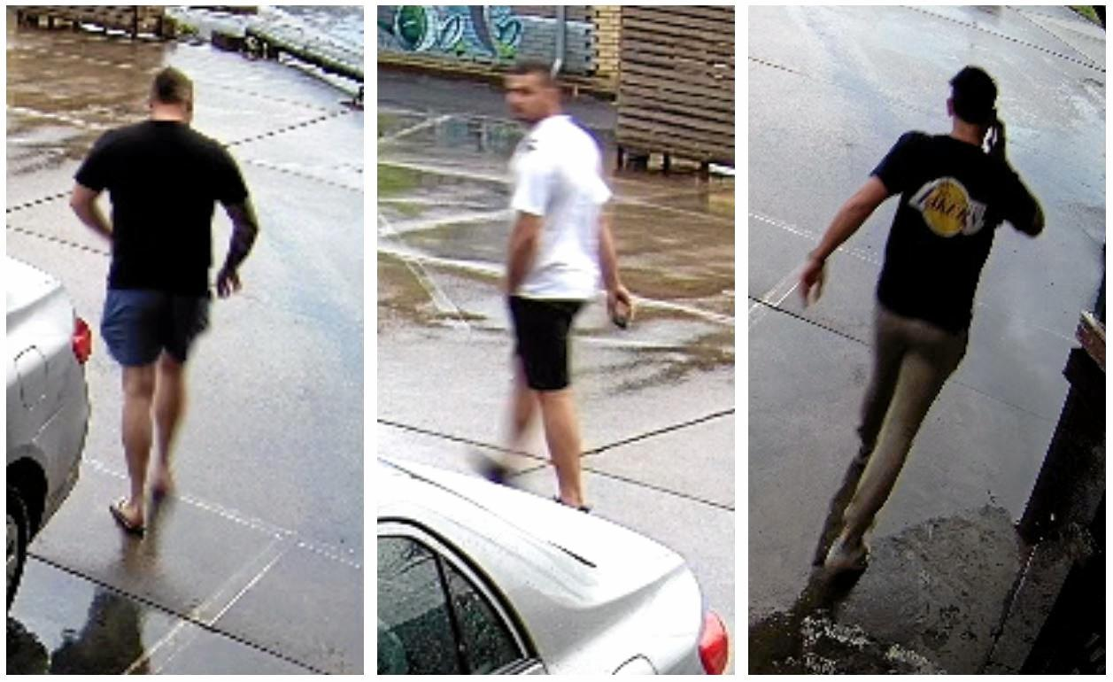 Police are looking for three men in relation to a serious assault at South Lismore.