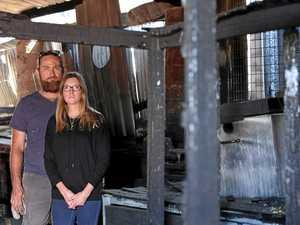 Fire sparks rebuild