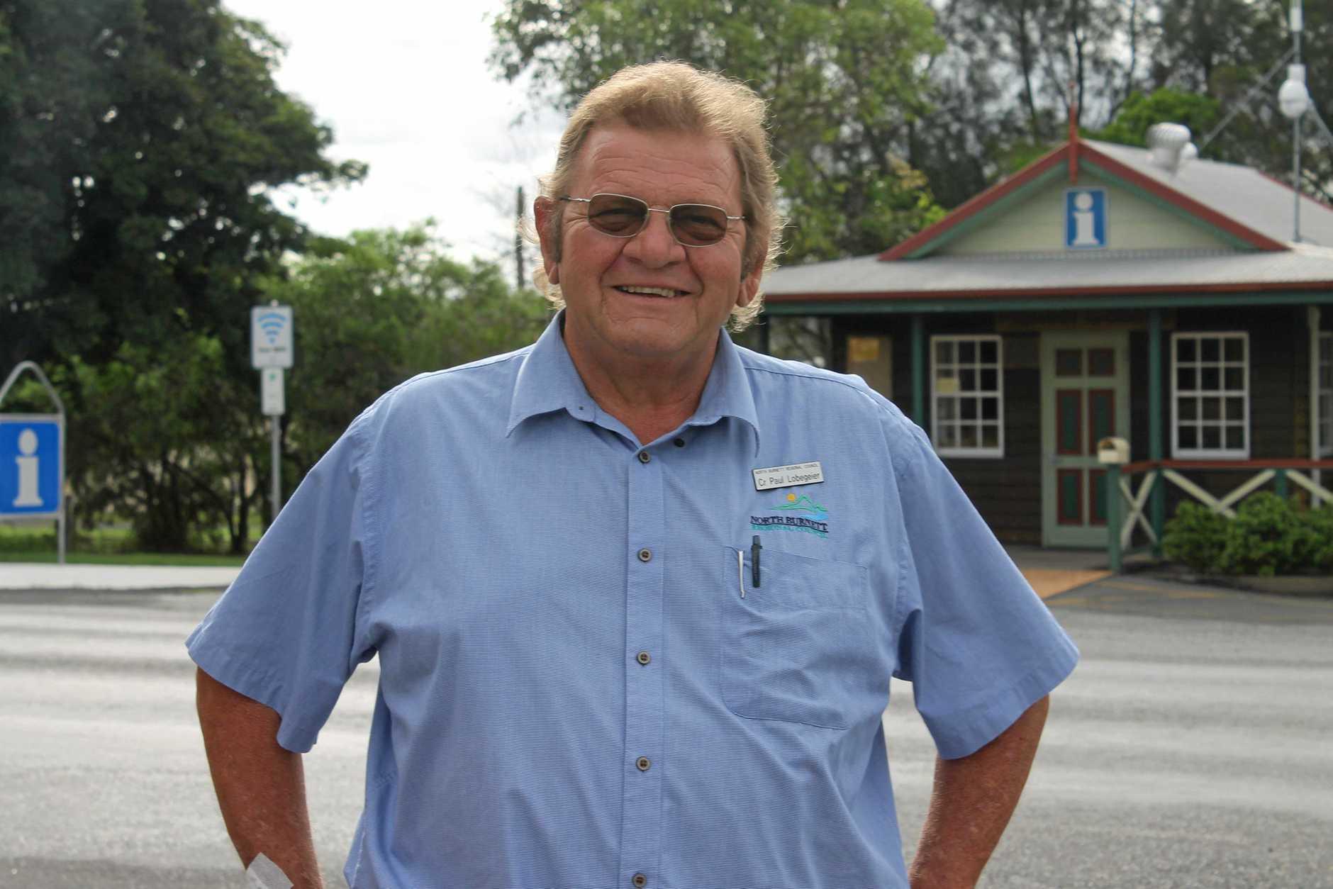 Monto councillor Paul Lobegeier.