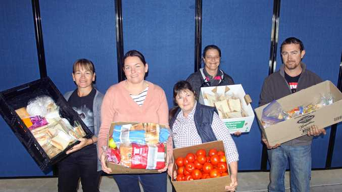 Generosity fires up for victims