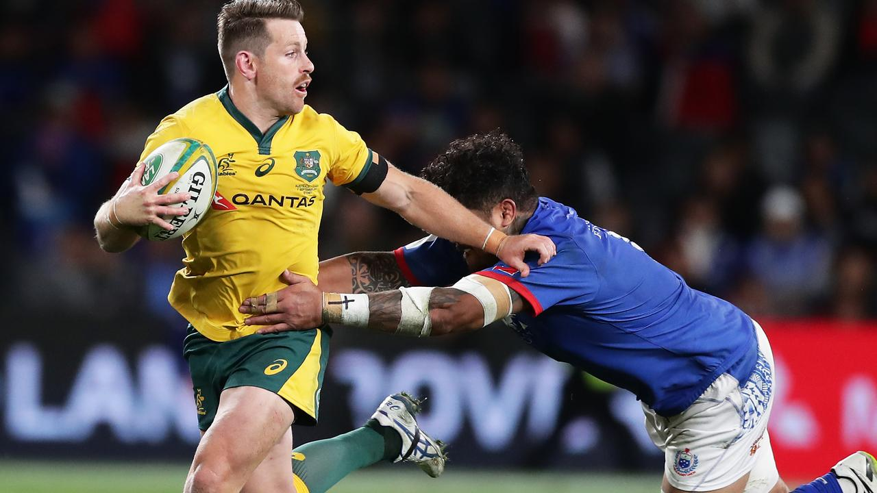Bernard Foley is in the running to start for the Wallabies.