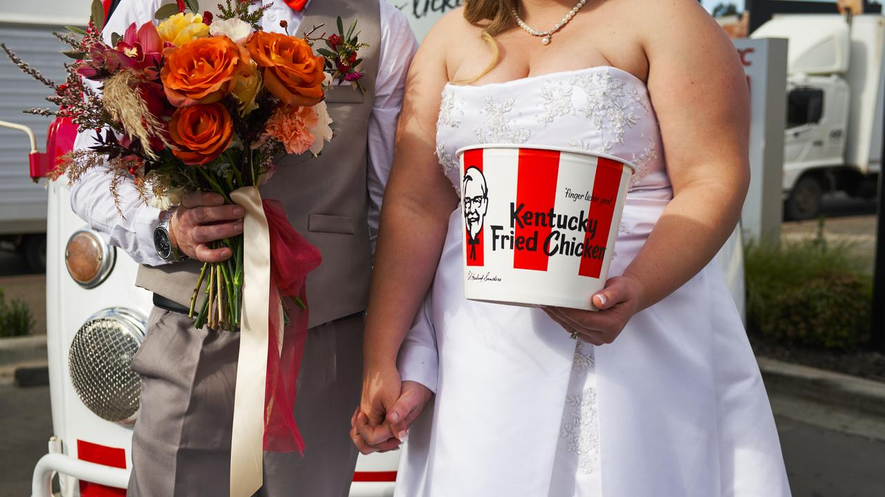 KFC launches wedding service.