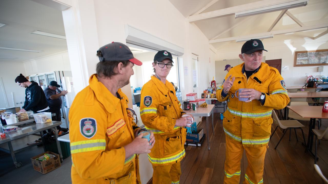evacuation centre at Dorrigo Showground .. 05 SEPT 2019