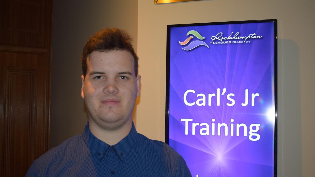 Bae Elliott at the Carl's Jr employment information session. Photo: Vanessa Jarrett