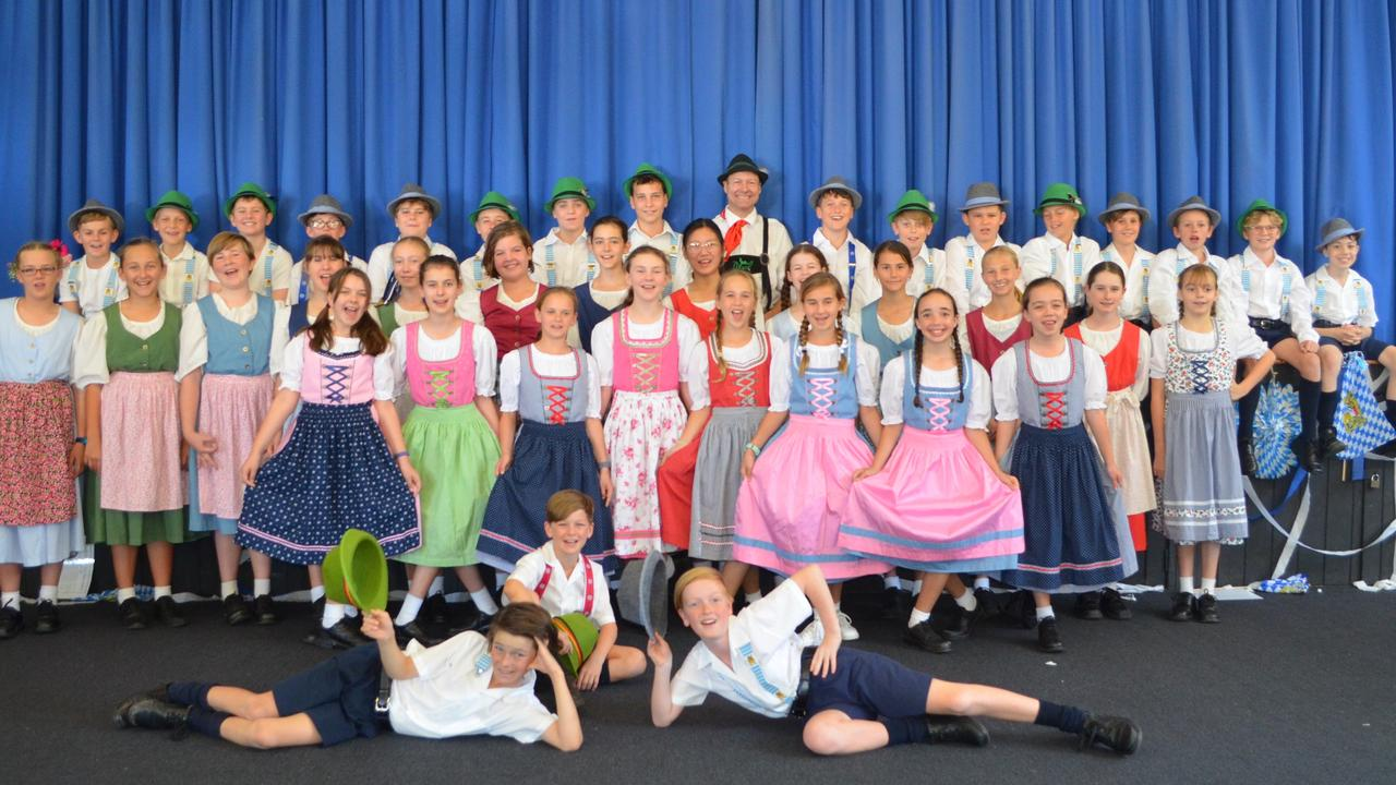 Oktoberfest at Immanuel Lutheran College explores colourful German traditions. Picture: Contributed