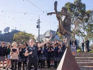 Tayla Harris statue 'transcends sport'