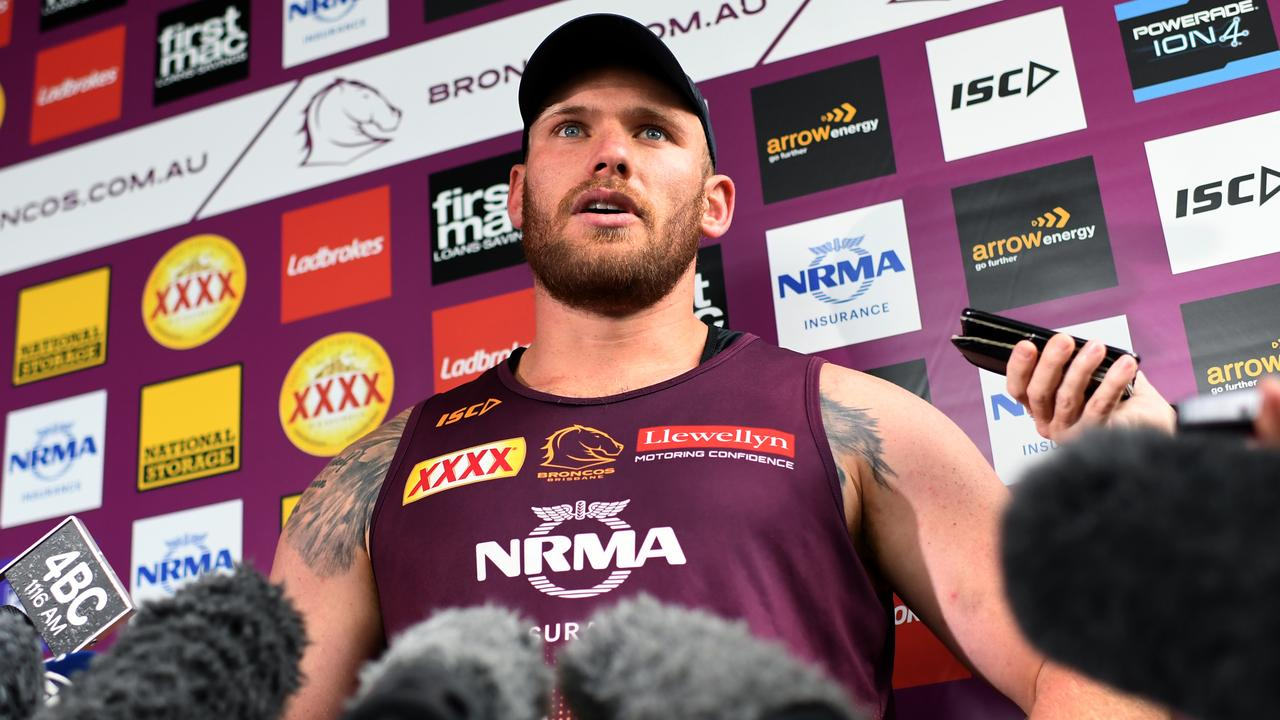 Matt Lodge has revealed his reasons for re-signing with the Broncos.