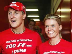 F1 legend Schumacher 'conscious'