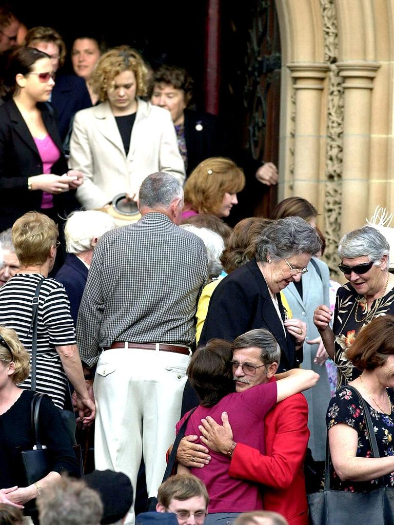 The memorial service for Yvonne Kennedy at St Mary`s Cathedral in Sydney. Picture: Jeff Darmanin.