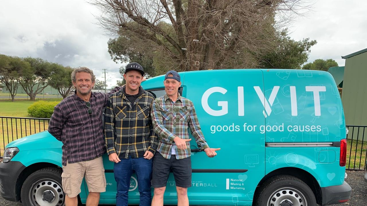 HELPERS: Charity GIVIT are helping provide bushfire assistance.