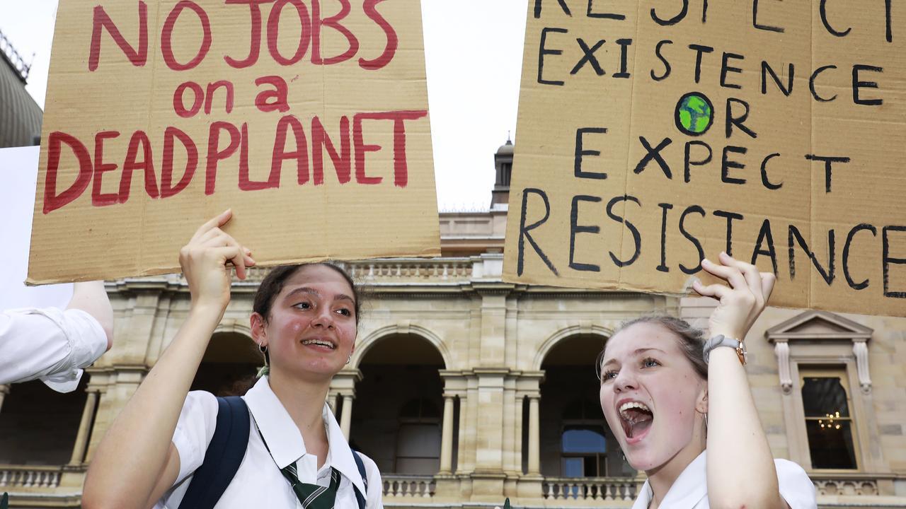 FILE PHOTO: Climate strike