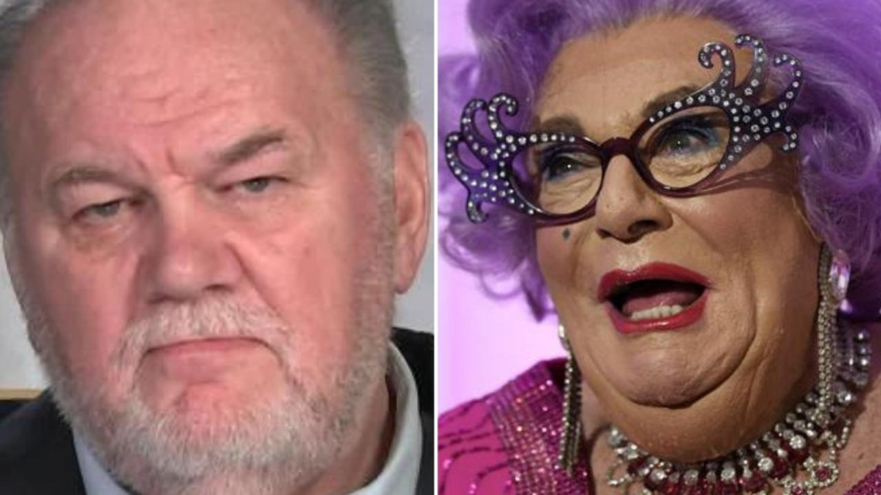 Dame Edna has claimed she's dating Thomas Markle.