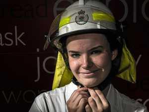 Cadet program sparks Sophie to help with fires