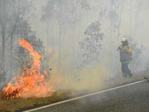 Lightning strikes could start fresh fires, RFS warns