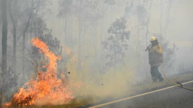 Lightning strikes could start fresh fires, RFS warns