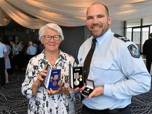 From farmhand to top cop: Constable Donaldson's hat trick