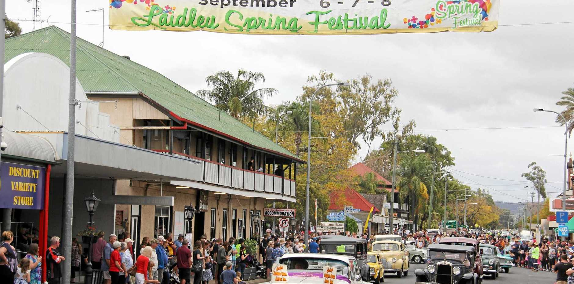 Thousands of people celebrated the 2018 Laidley Spring Festival.