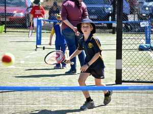 Youngsters get a chance to play at Brisbane International