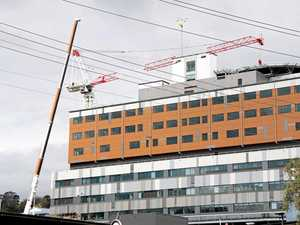 Hospital upgrade: milestone reached in ongoing works