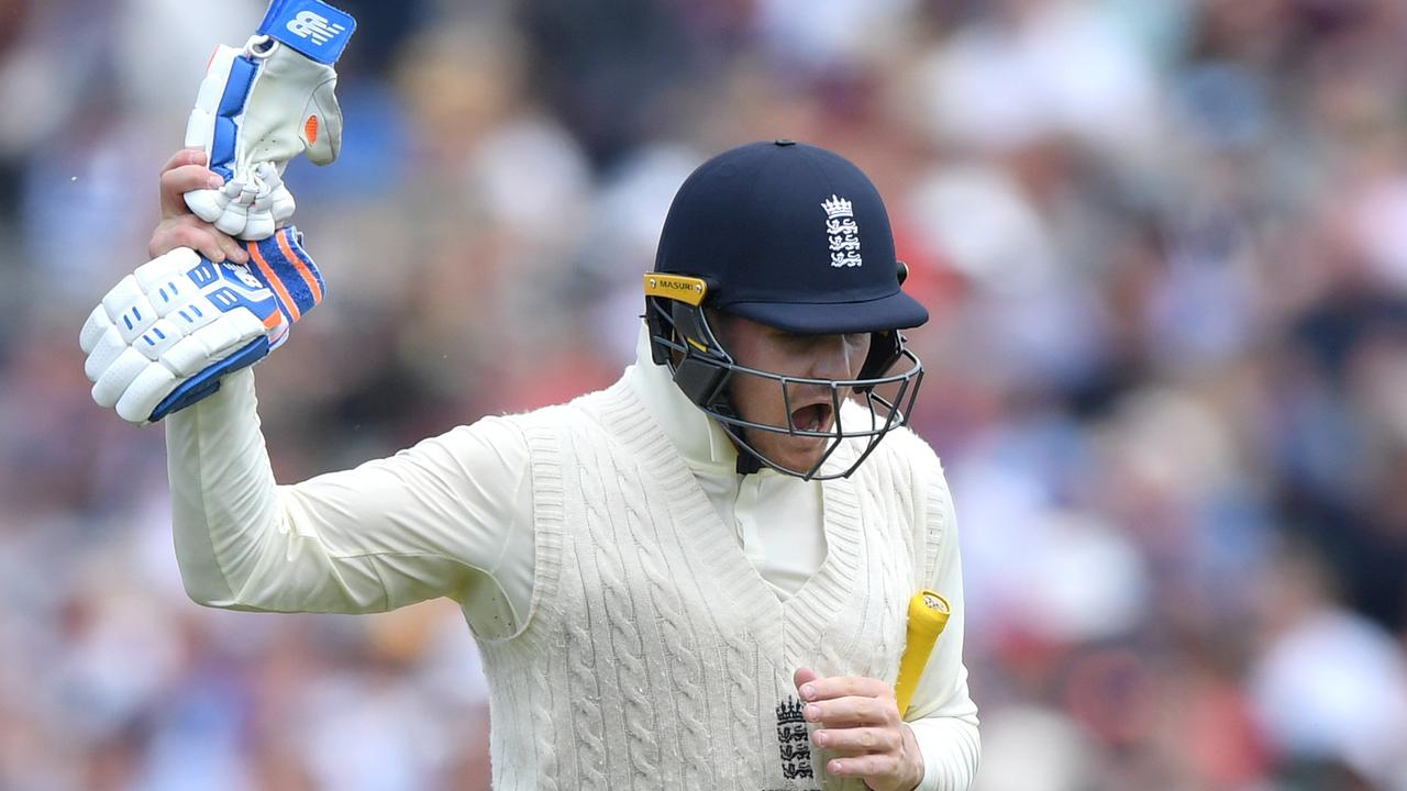 Jason Roy blows up as he leaves the field in the fourth Test.