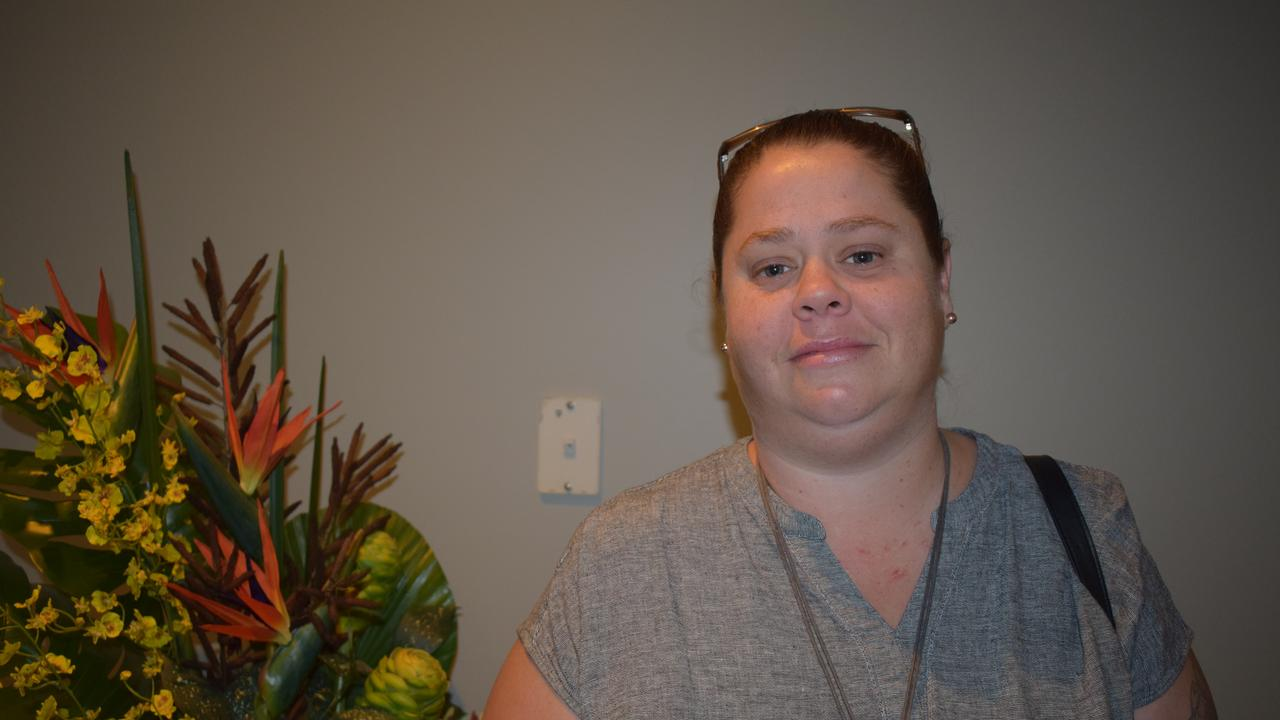 Katelyn Fry is hopeful she can get a job at the new Carl's Jr after her speed interview felt successful.