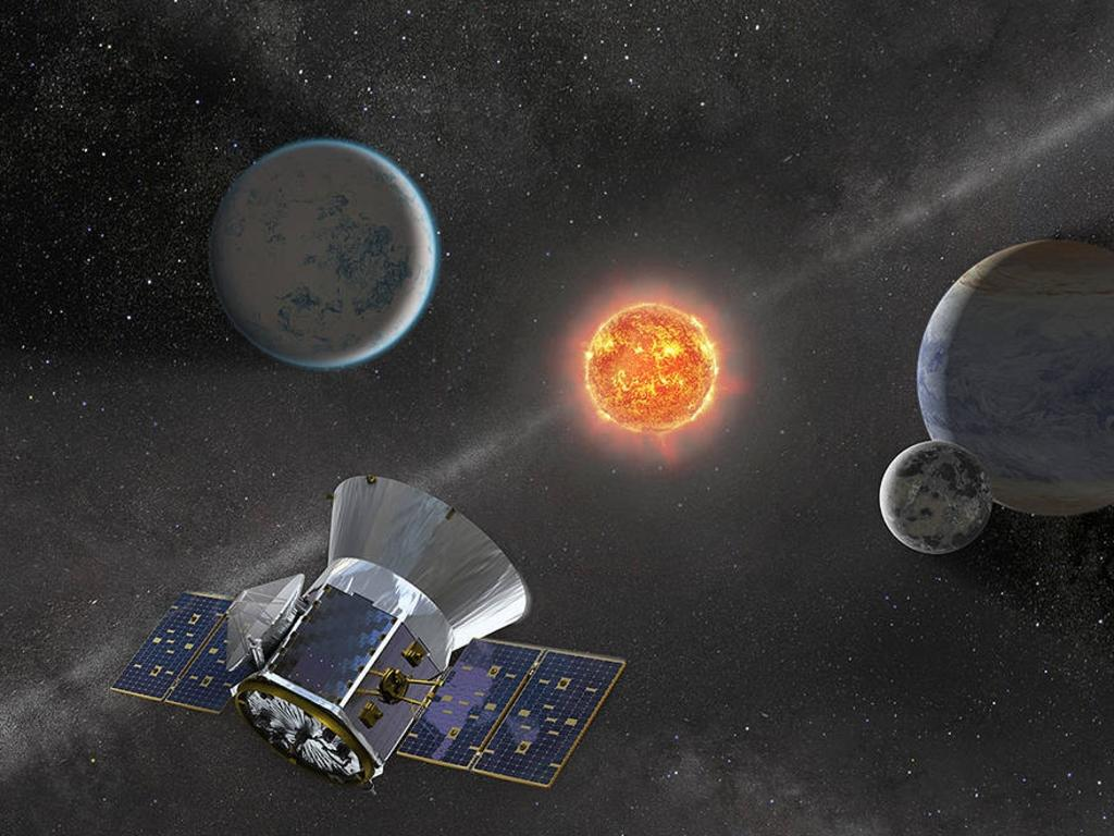 NASA's planet-hunting satellite TESS helps discover a 'super-Earth' and two gaseous sub-Neptune-sized planets orbiting a nearby star 73 light years away. Picture: Supplied