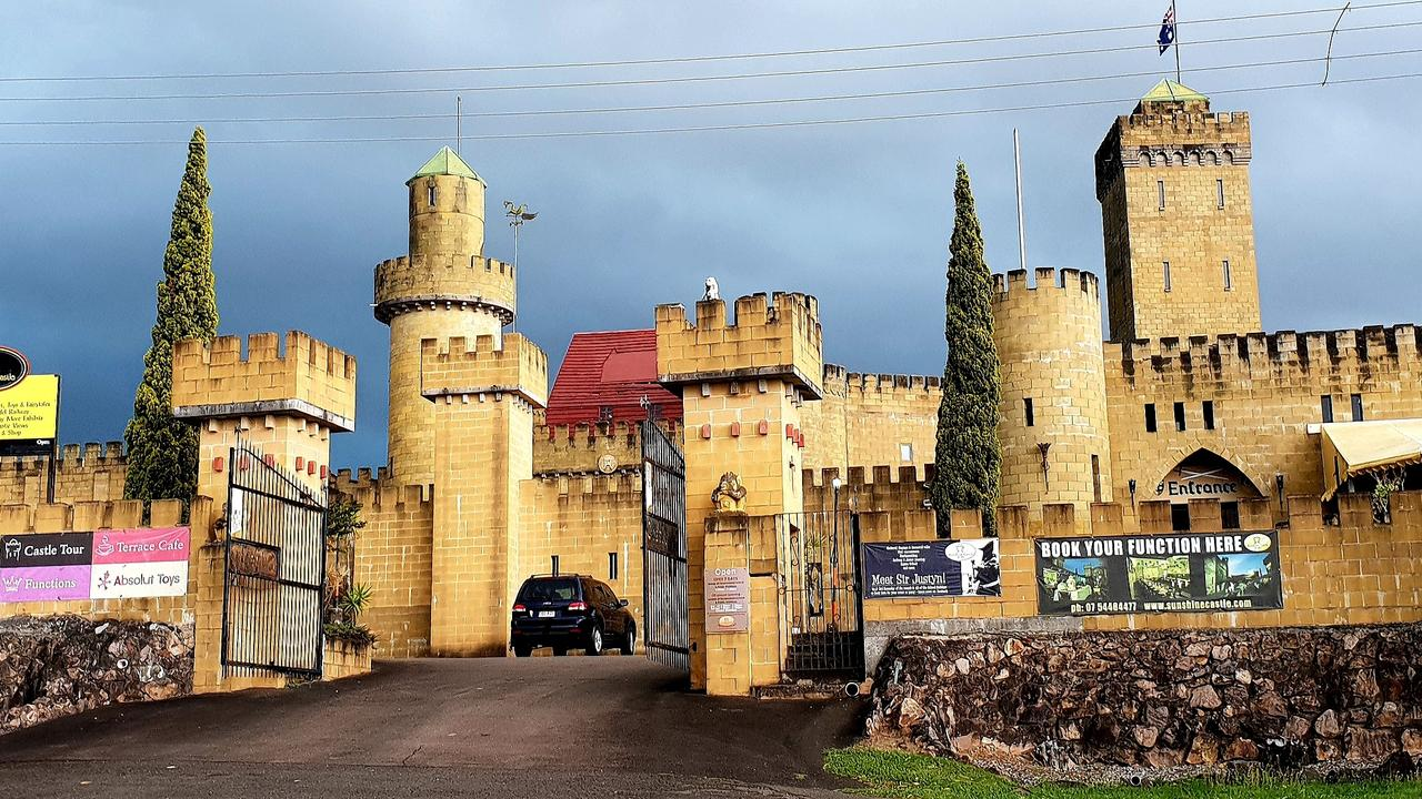 UNKNOWN: Sunshine Castle owner Birte Benecke-Uhrig fears the impact of a council push to heritage list her business.