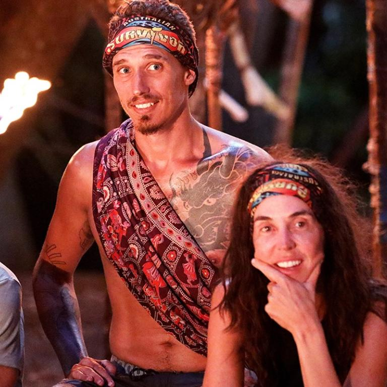 "Luke and Janine on Survivor: ""People seemed healthy."""