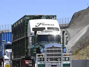Trucks drive Inland Rail alternative which saves houses