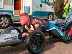 Flintoff escapes horiffic Top Gear wreck