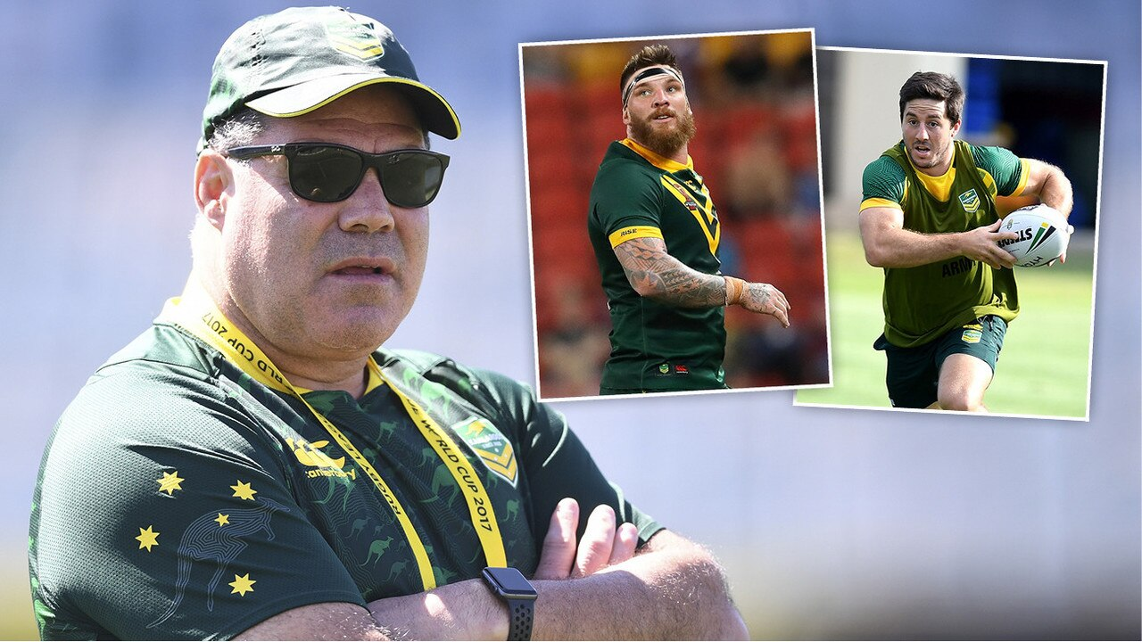 Kangaroos coach Mal Meninga backs Josh McGuire and Ben Hunt