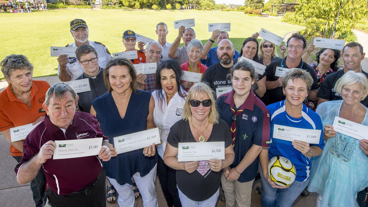 Buderim Foundation 2018 grant recipients. Picture: Contributed