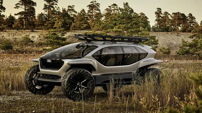 In Audi's future, off-roading takes its cues from drones