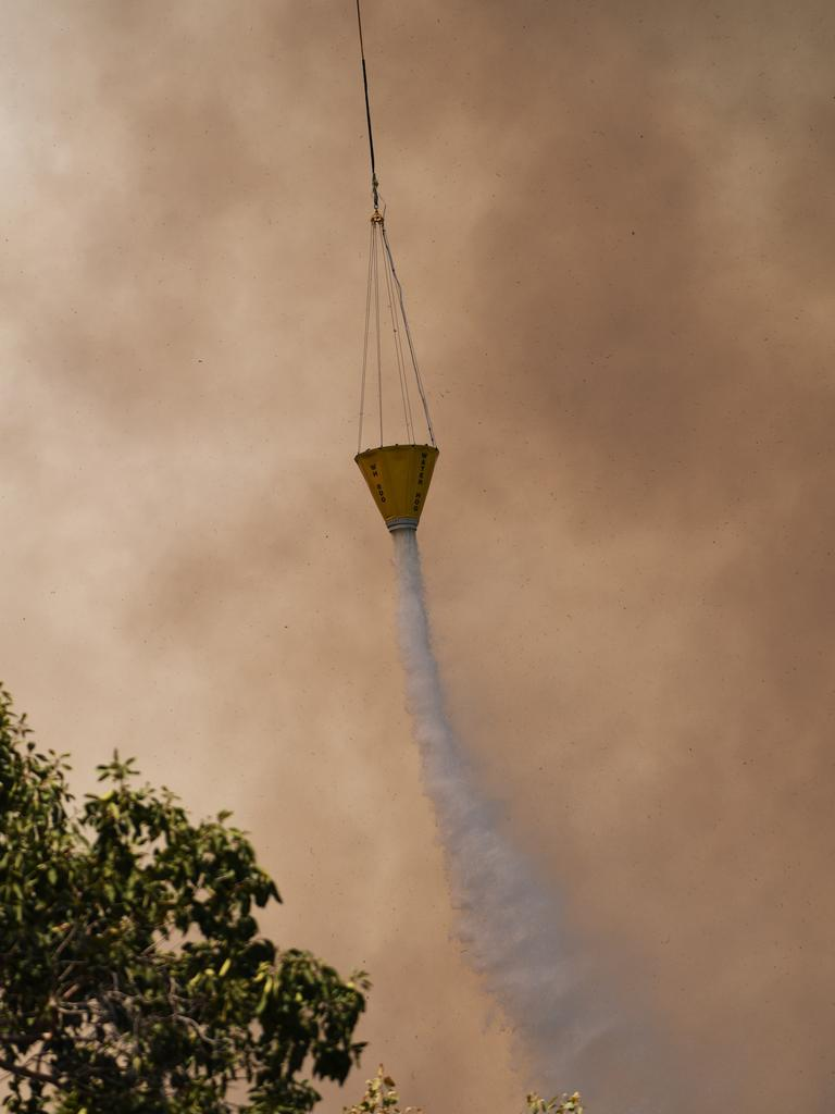 Fire bomber over Koongal