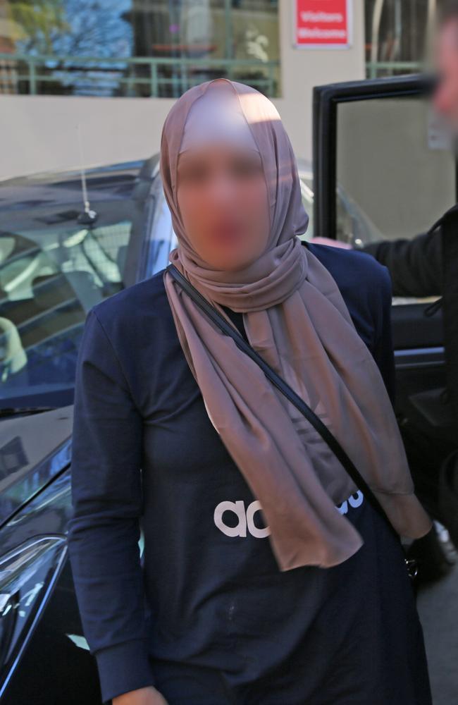 Strike Force Mercury Greenacre arrest. Picture: NSW Police