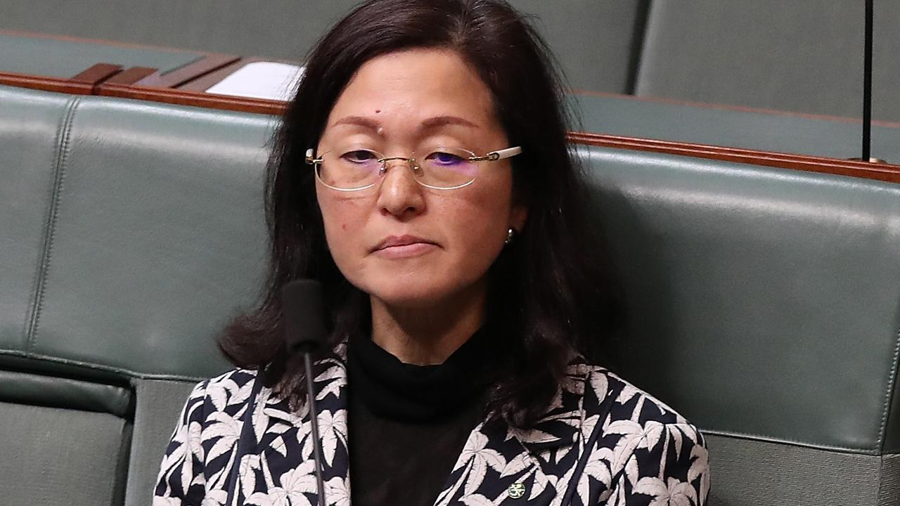 Gladys Liu in parliament. She has come under fire for failing to declare donations. Picture: Kym Smith
