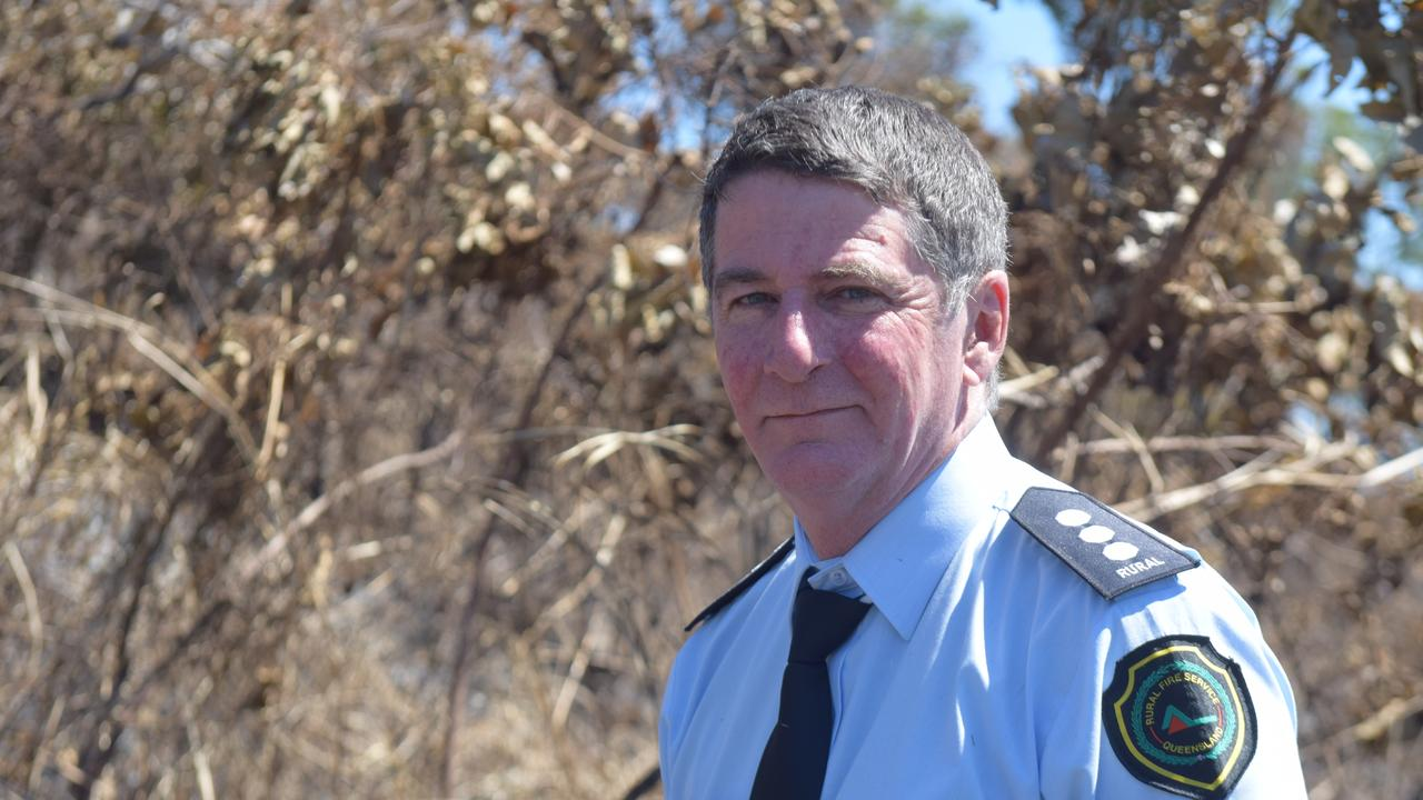 Rural Fire Service Mackay area director Andrew Houley said with this fire season expected to be another challenging year, residents needed to be vigilant in reporting suspicious fires. Photo: Zizi Averill